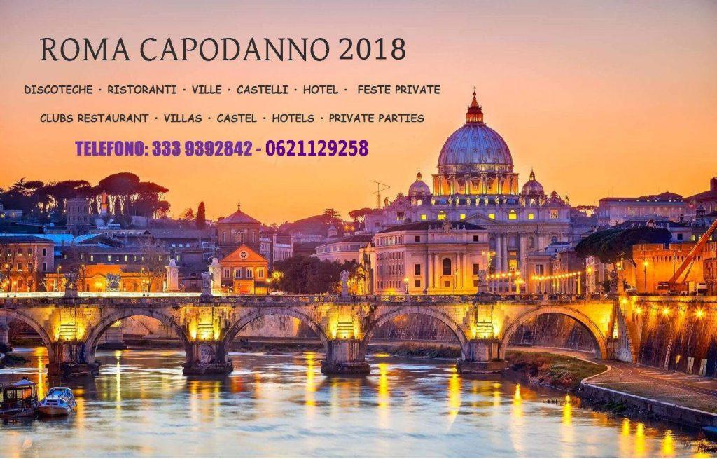Capodanno Roma 2018